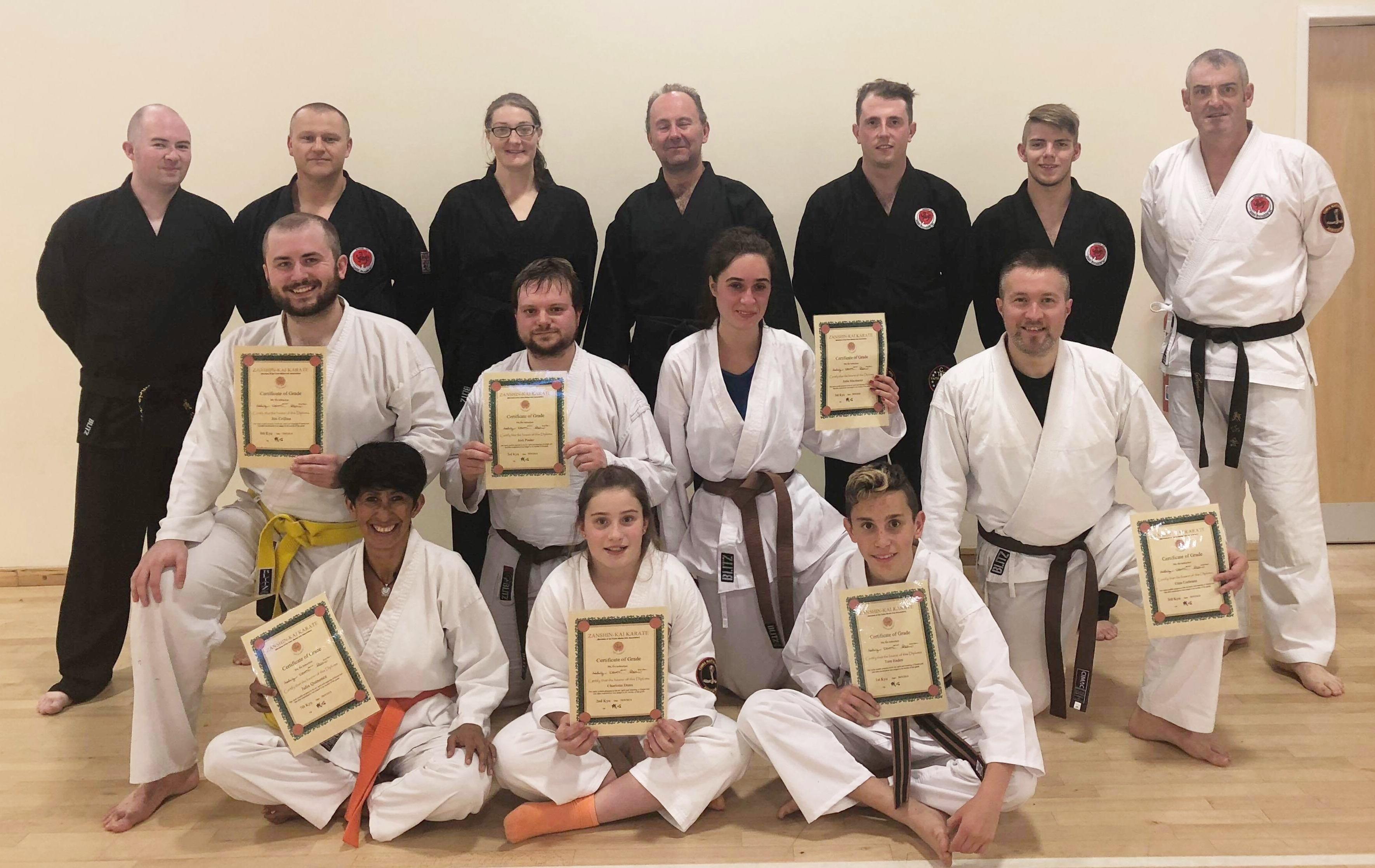 Karate Grade Success