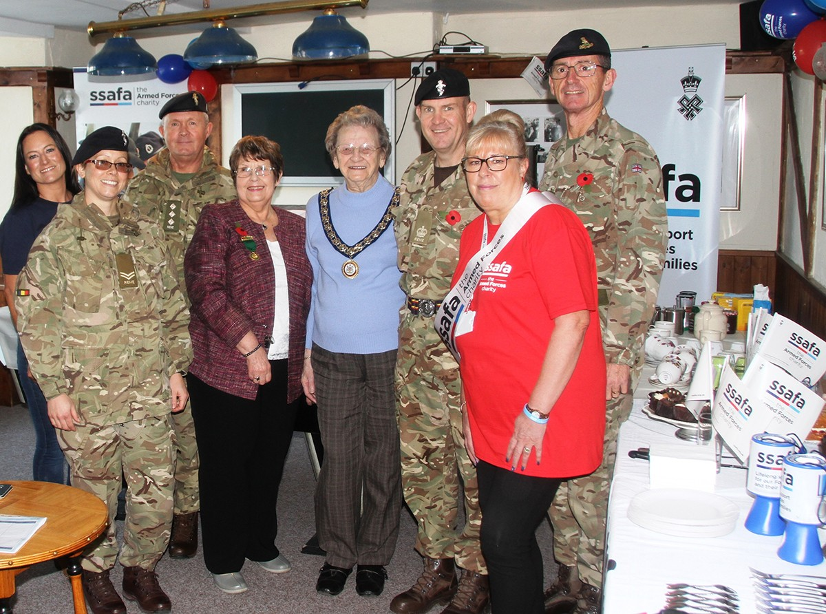 SSAFA Big Brew – A Huge Success in Great Aycliffe