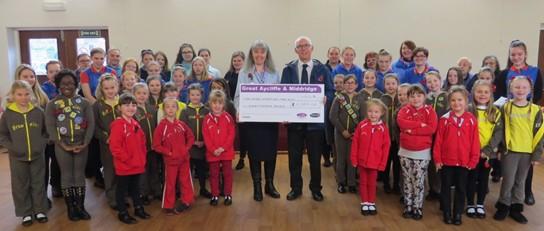 £11,000 Awarded to Girlguiding