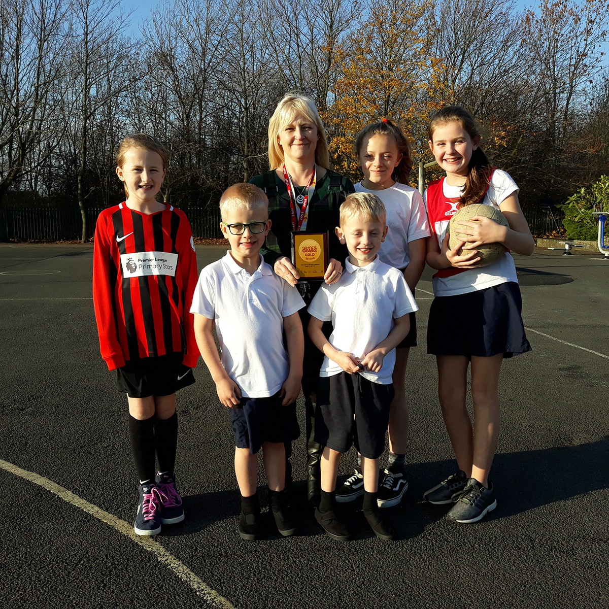 Woodham Burn Children Get GOLD