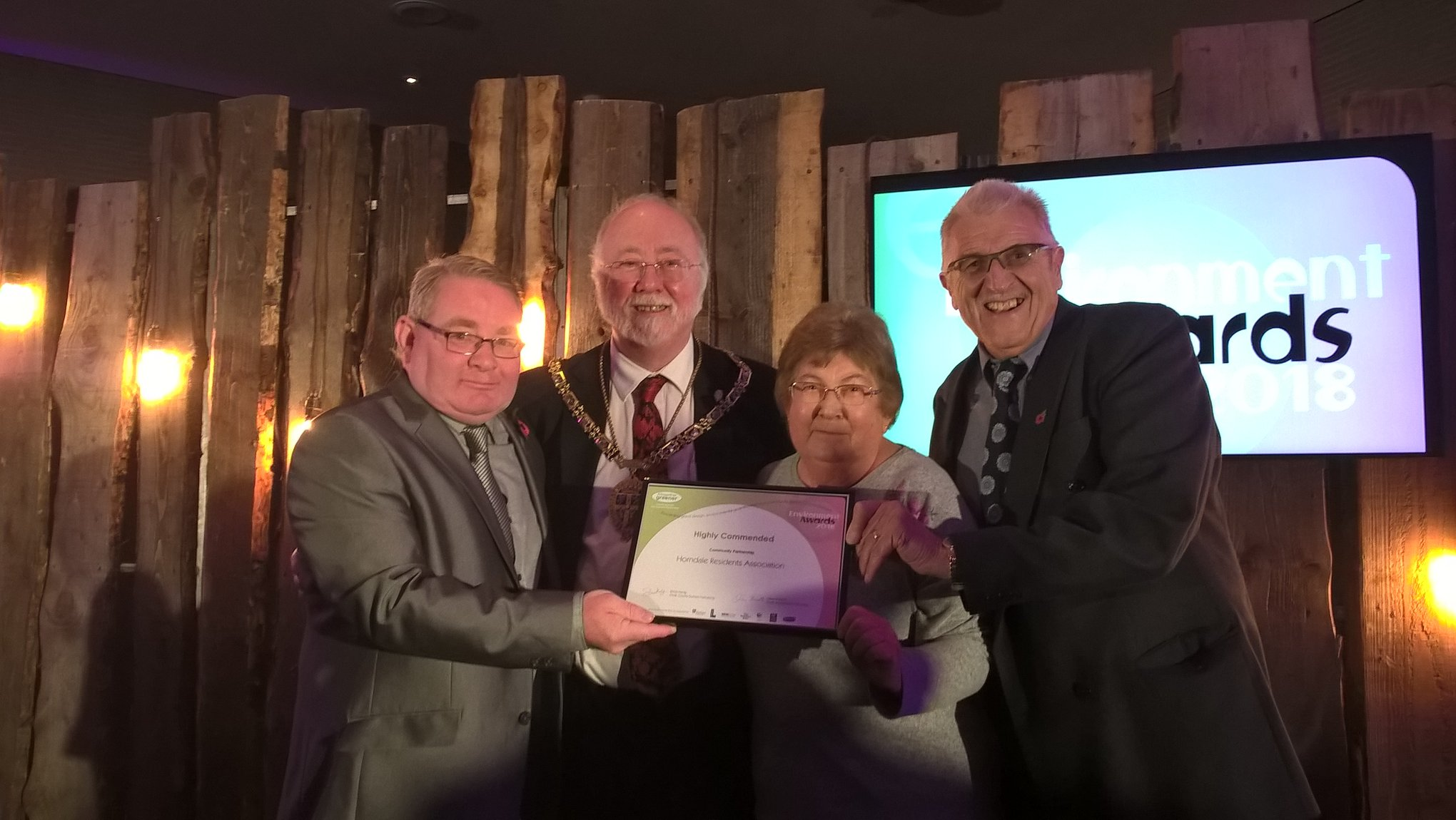 HRA Highly Commended at Environmental Awards