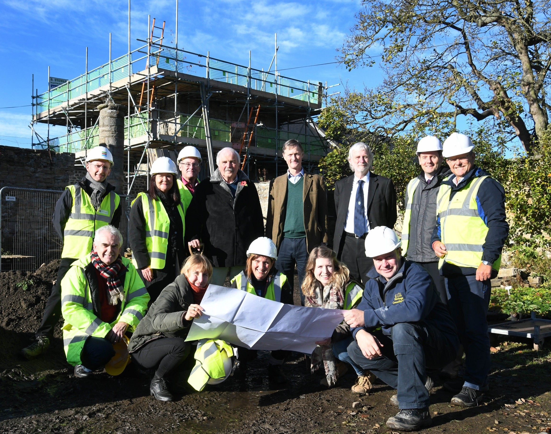 Work Begins to Transform Historic Building in Heritage Action Zone