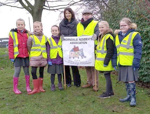 Bulb Planting at Horndale