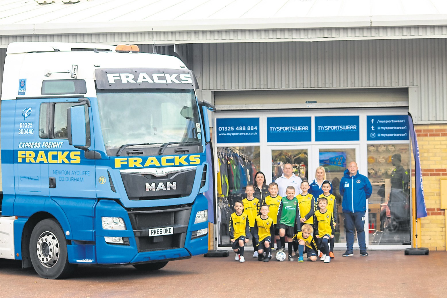 Local Haulier Supports Darlington 21st Allstars