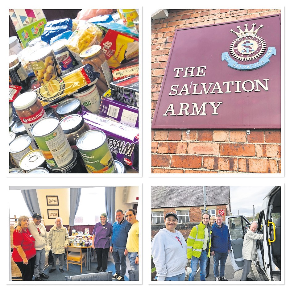 Innovations Help Out Local Food Bank