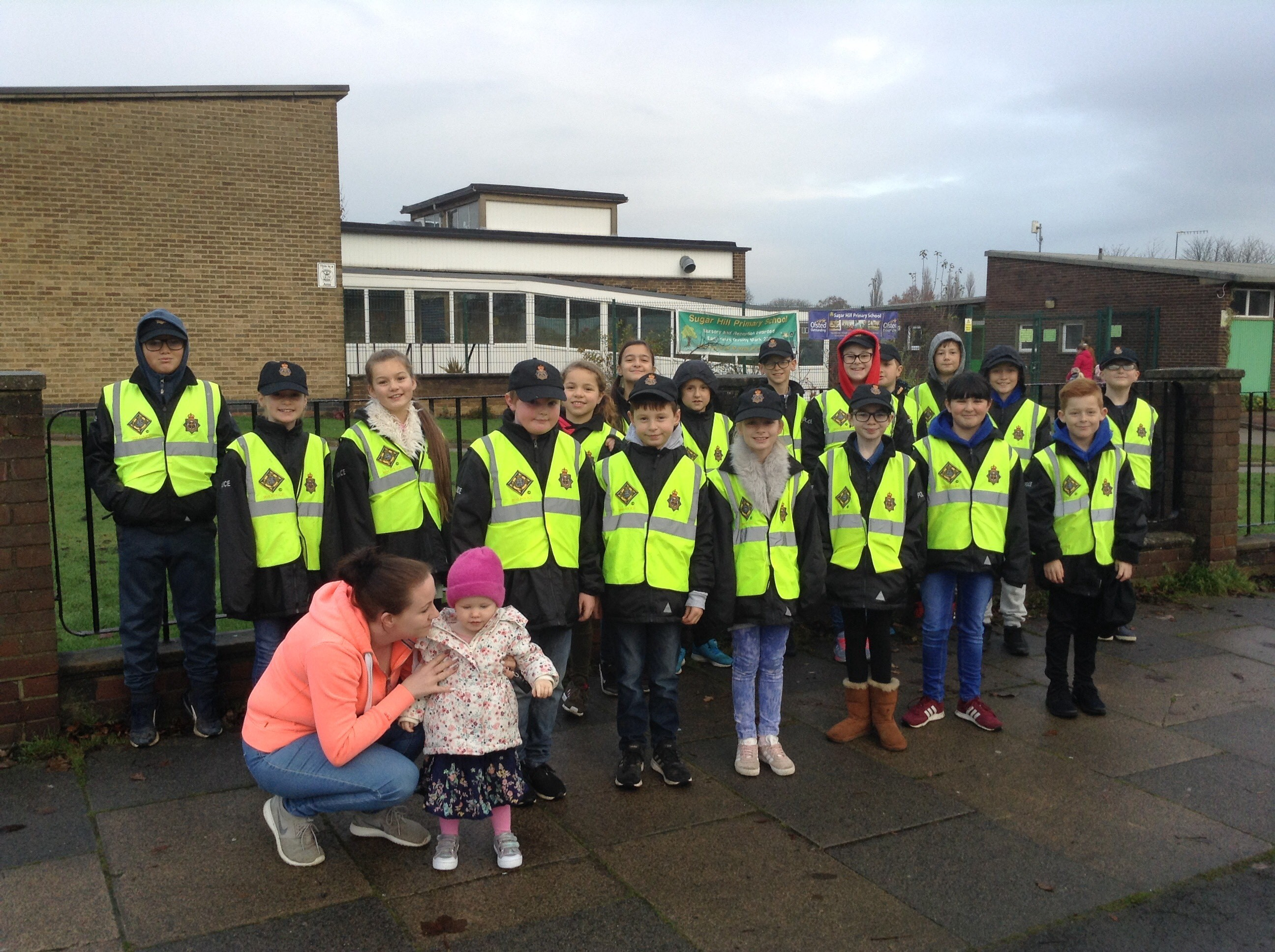 Sugar Hill Road Safety Awareness