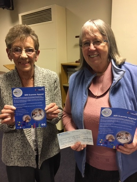 Donation to MRI Appeal