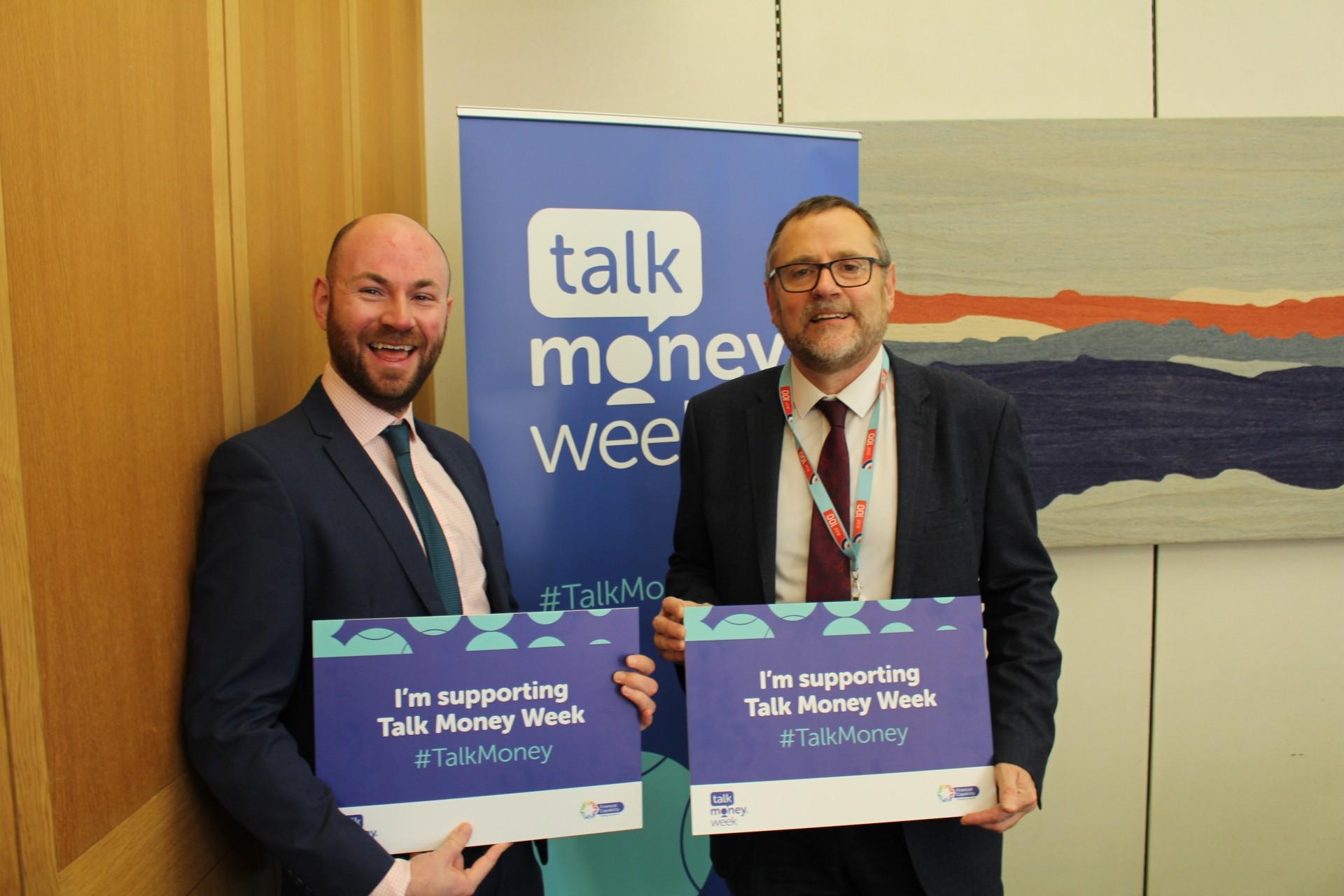 MP Encourages 'Talk Money'