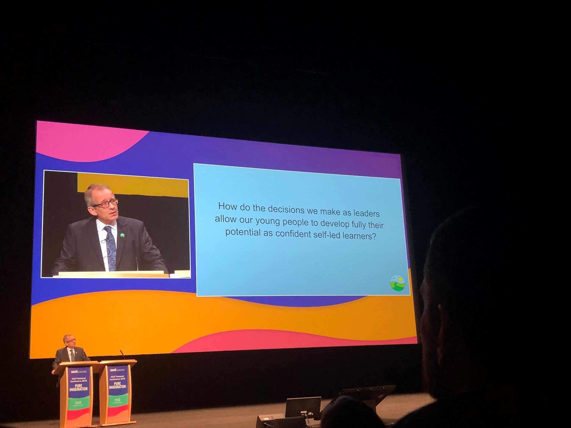 Greenfield Head Speaks at SSAT Conference