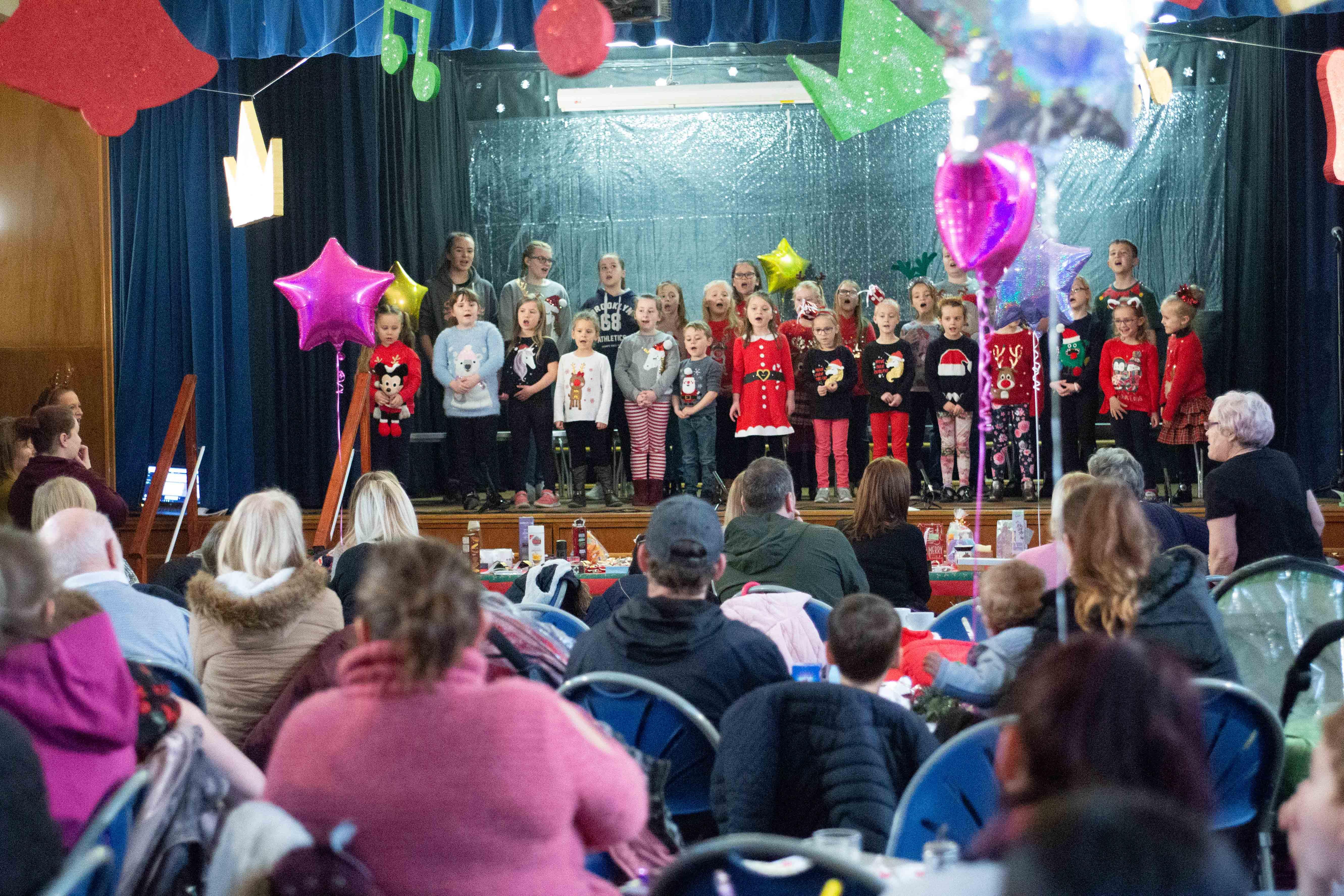 Shine Choir Entertain at Church Fair