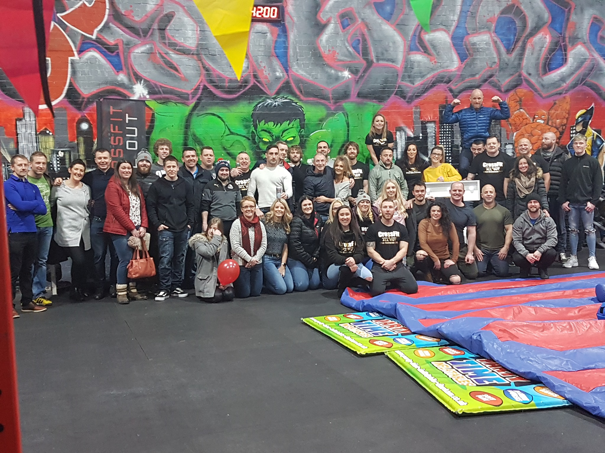 Crossfit All Out Celebrate Fifth Birthday