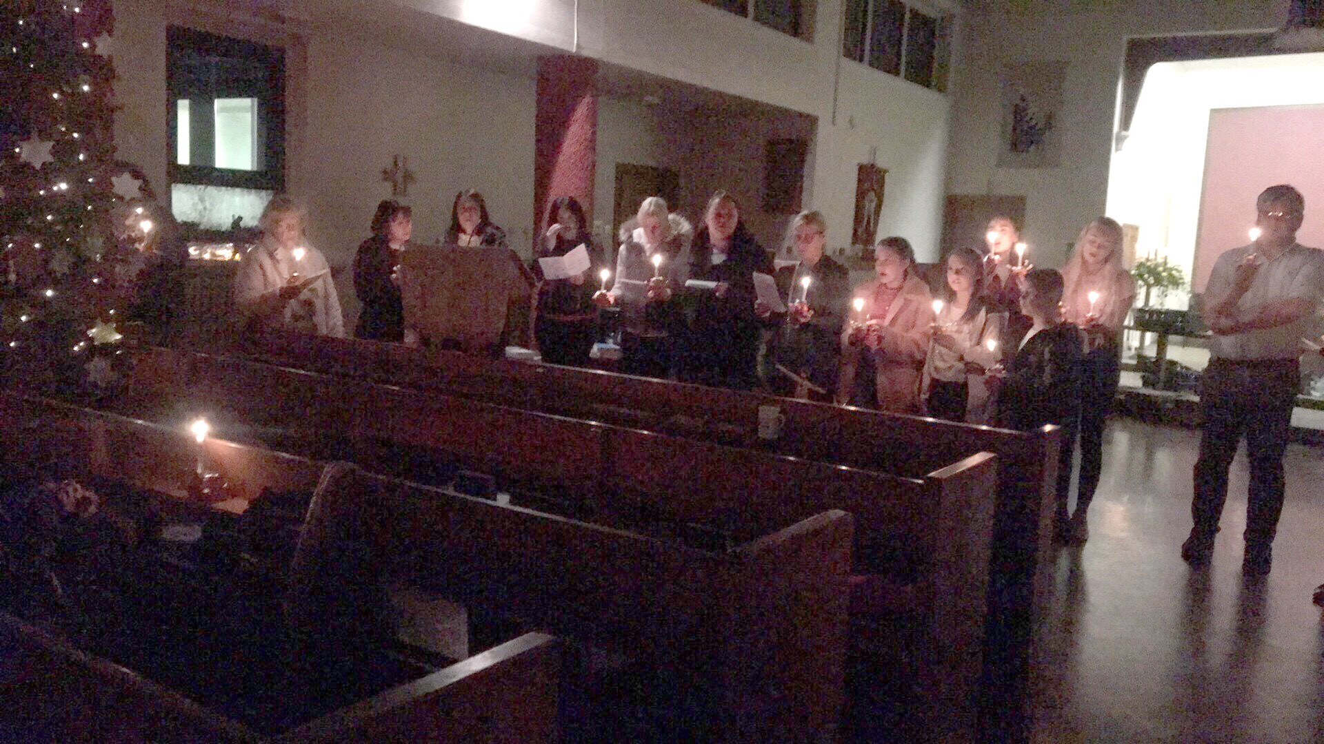 Christingle at St. Clare's