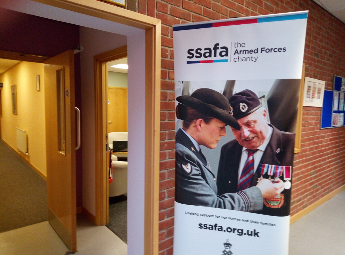 New Drop In Centre for SSAFA