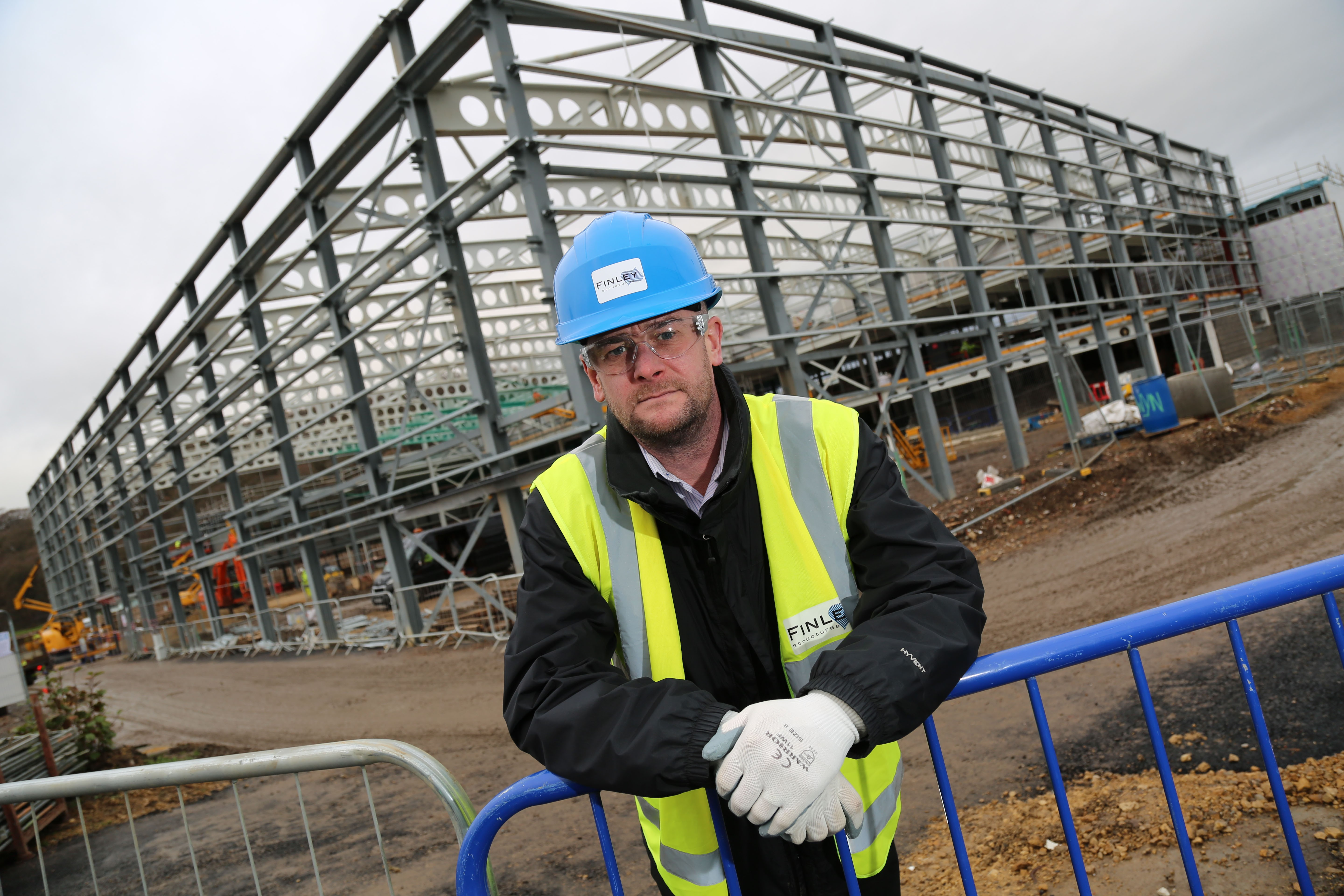 Praise for 'Proactive' Finley Structures