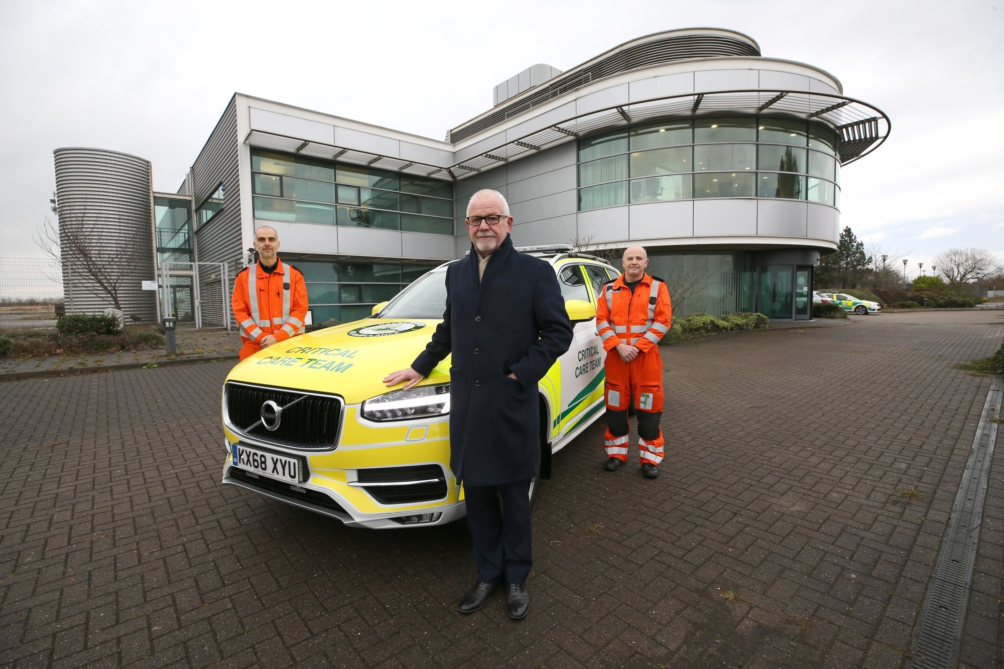 New Base for Great North Air Ambulance Service