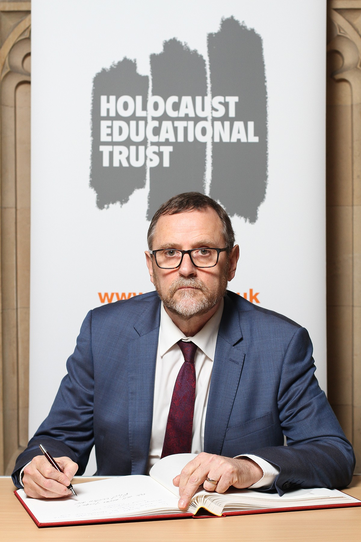 MP Signs Holocaust Educational Trust Book of Commitment