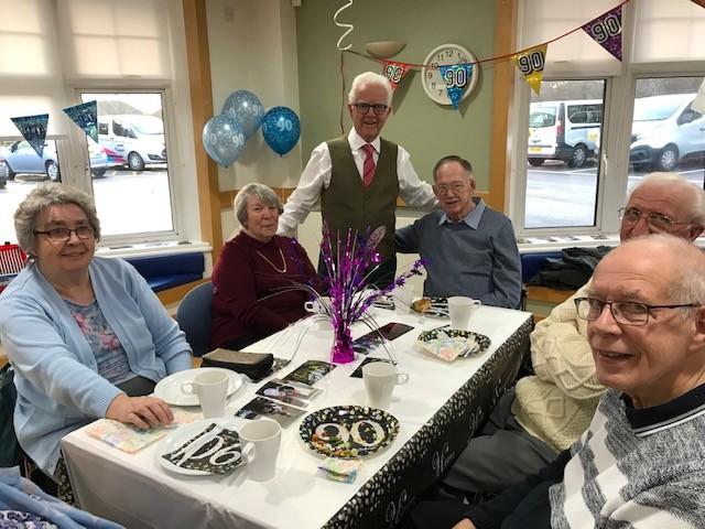 George Wheatley Celebrates his 90th Birthday at PCP
