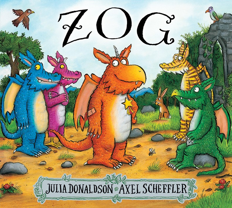 Author's Delight As Zog Takes To The Stage