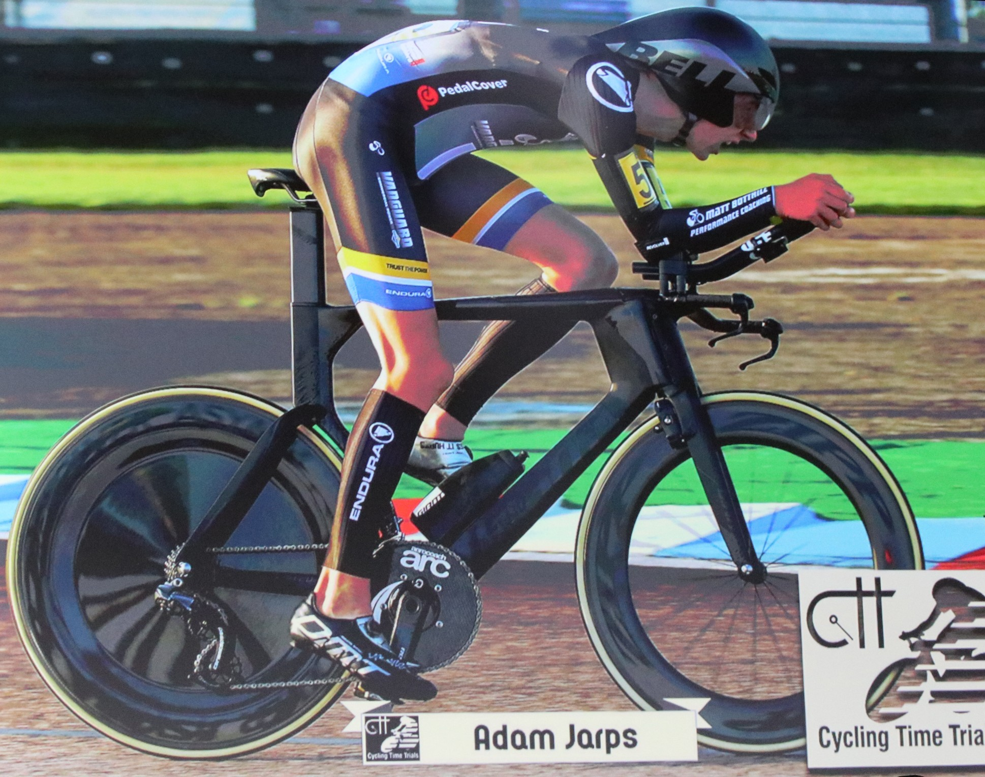 Newtonian Excelling in World of Cycling Time Trials