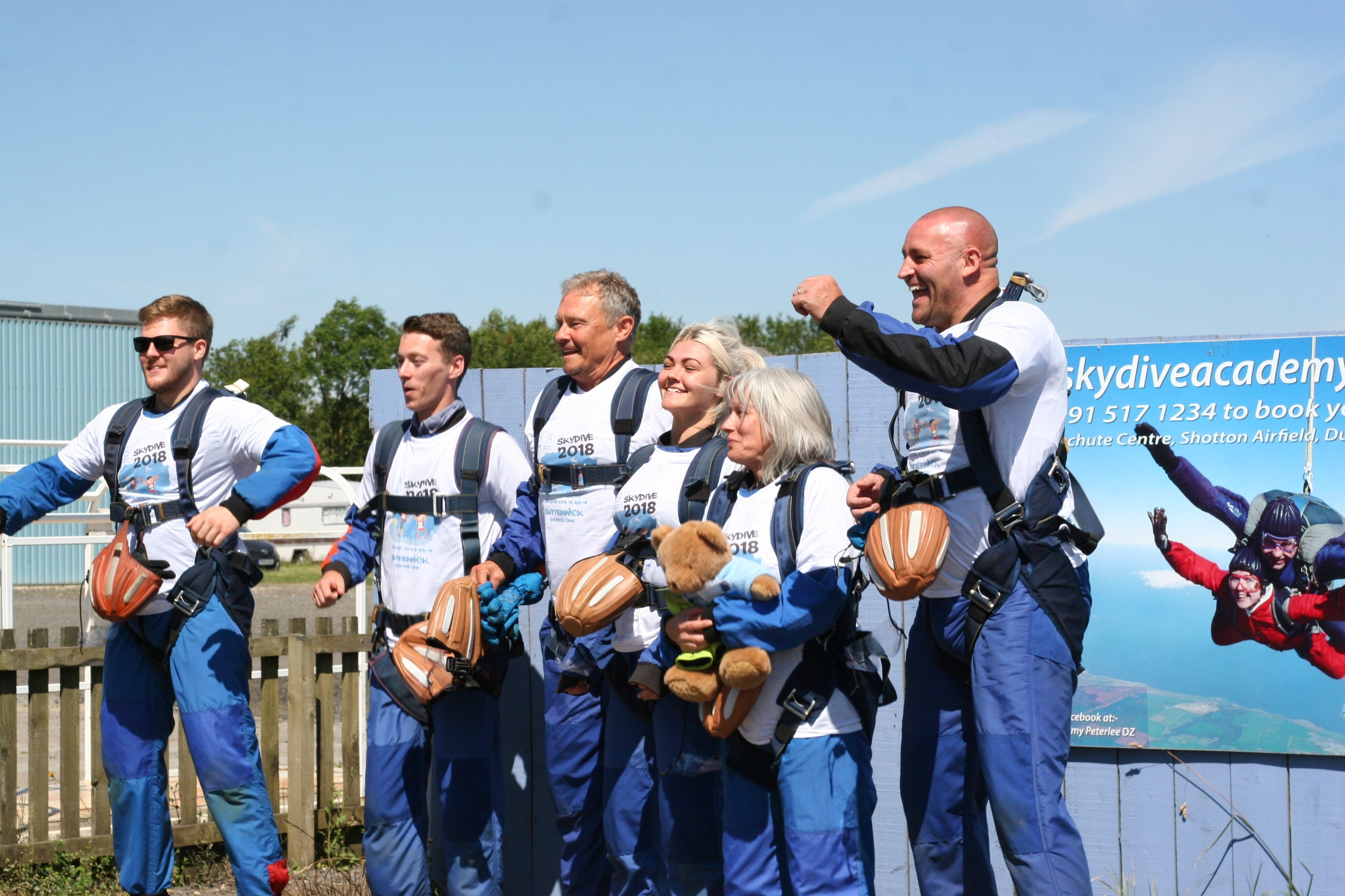 Sky Dive For Butterwick