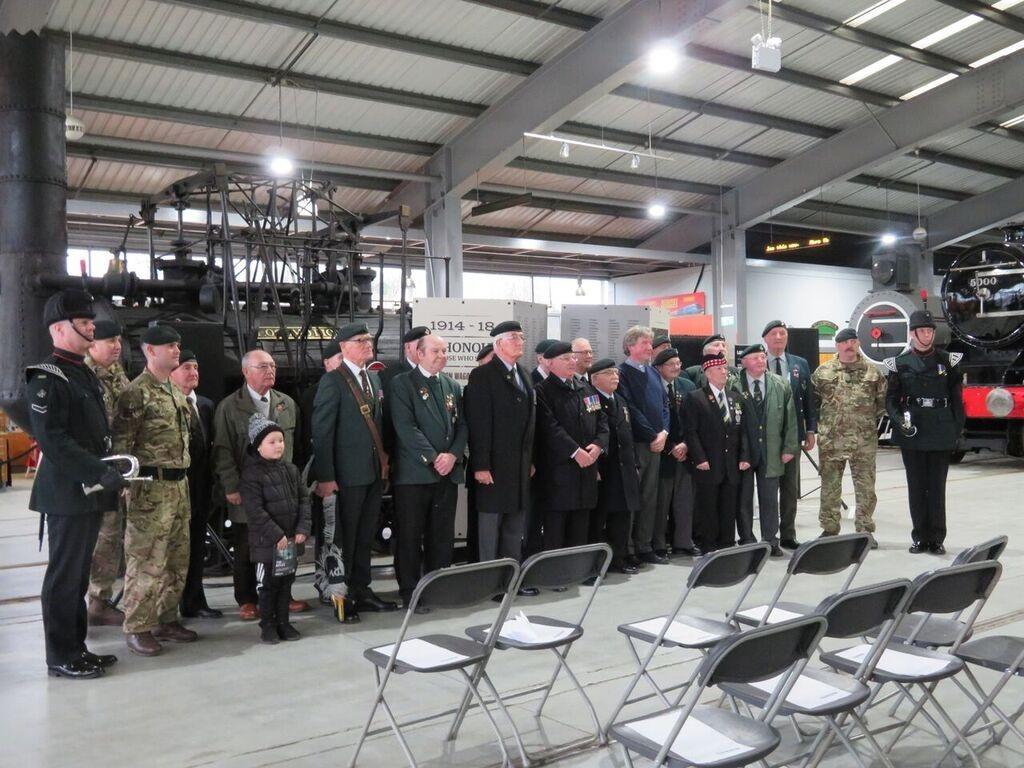 Dedication Service for Railwaymen of Shildon Works