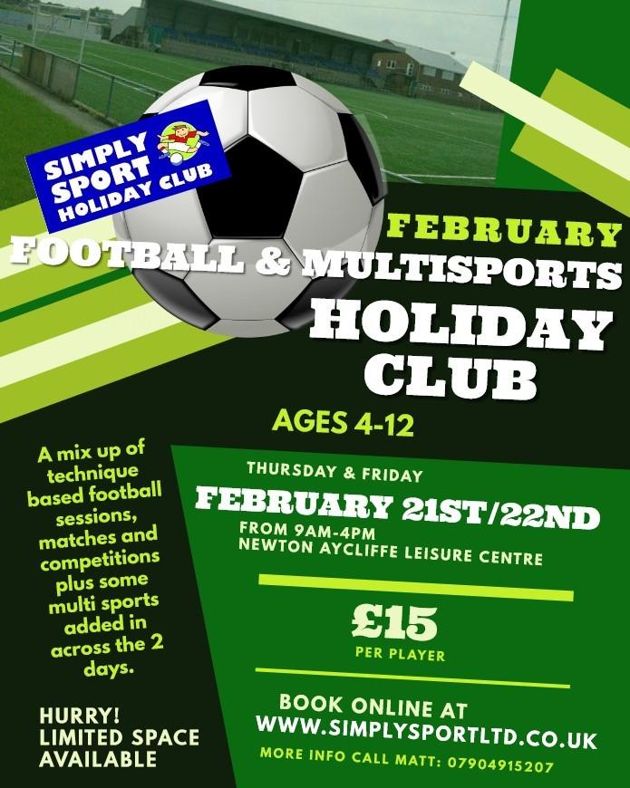 Half Term Sports Club