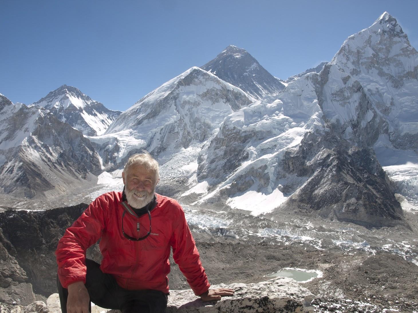 Adventure Festival With Mountaineer Sir Chris Bonington