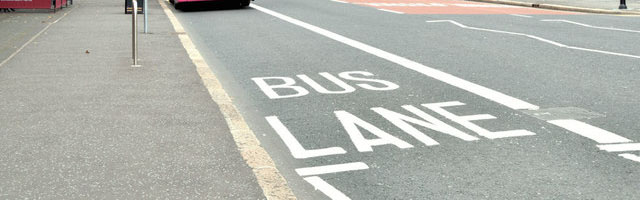 Tackling Bus Lane Misuse in County