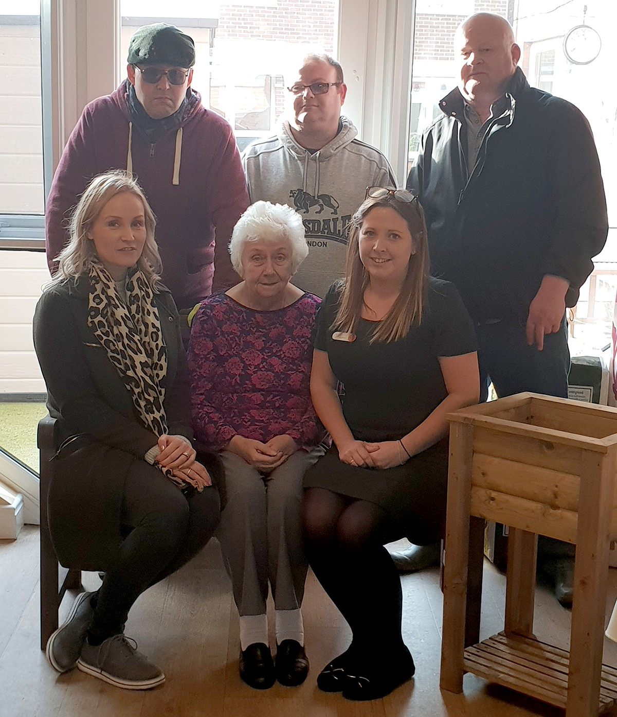 Defoe Court Receives Donation from Local Woodcraft Firm