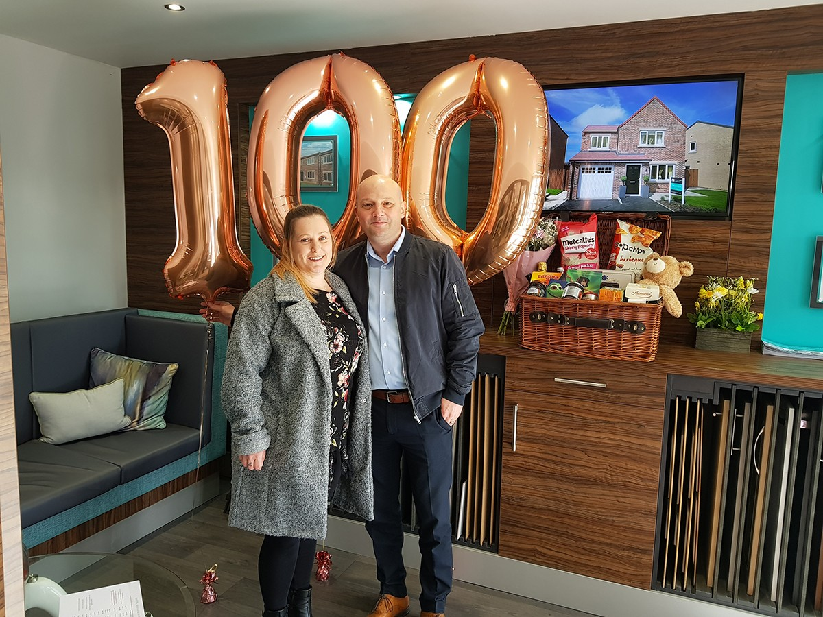 Chapter Homes Celebrate 100th Sale