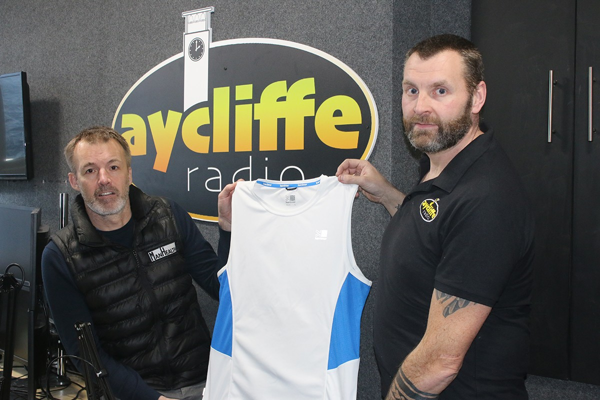 Aycliffe Radio Runner Supports 'ManHealth'
