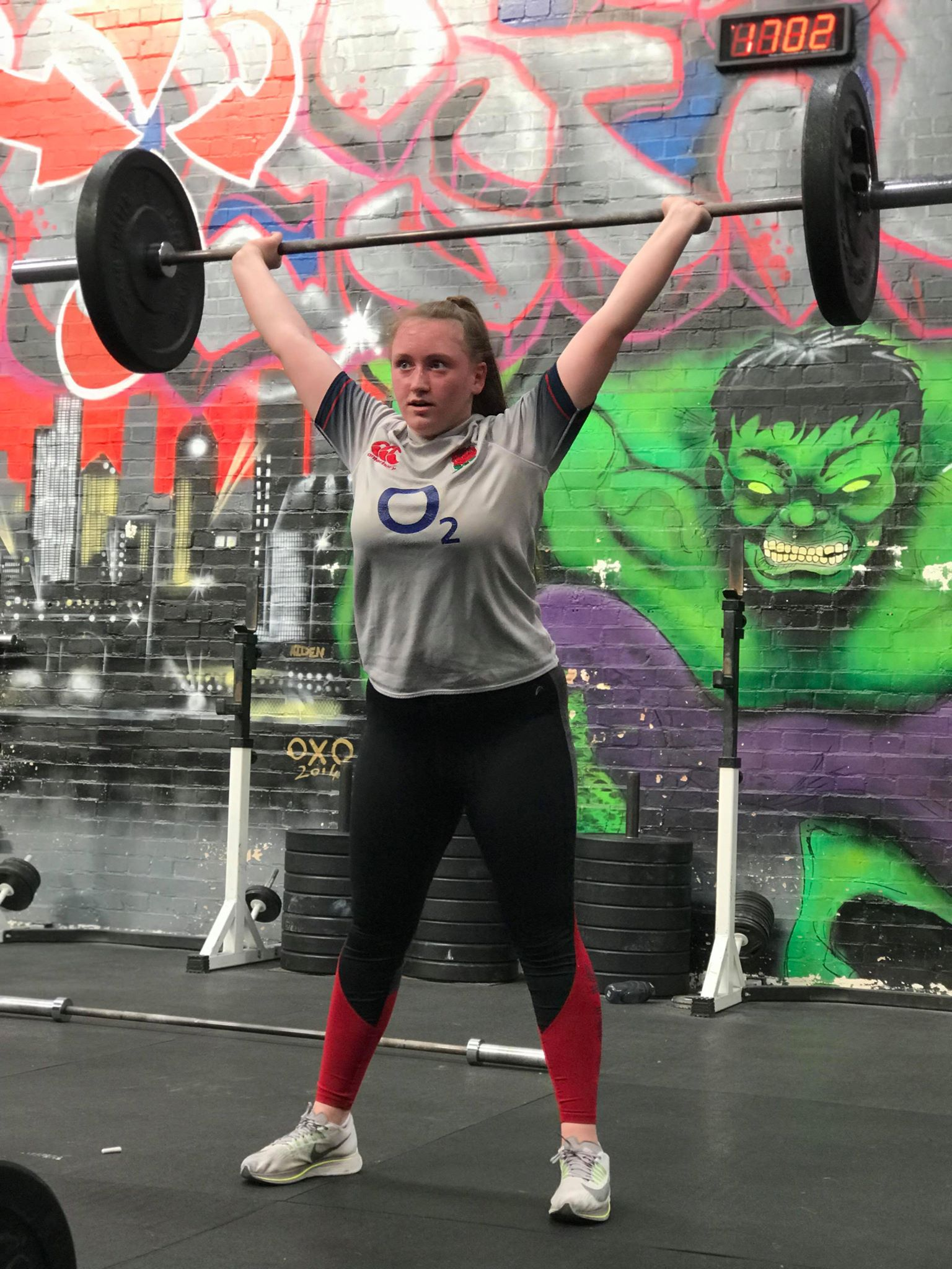 Catherine Achieves Durham County RFU U18s Girls' Team Dream with Crossfit!