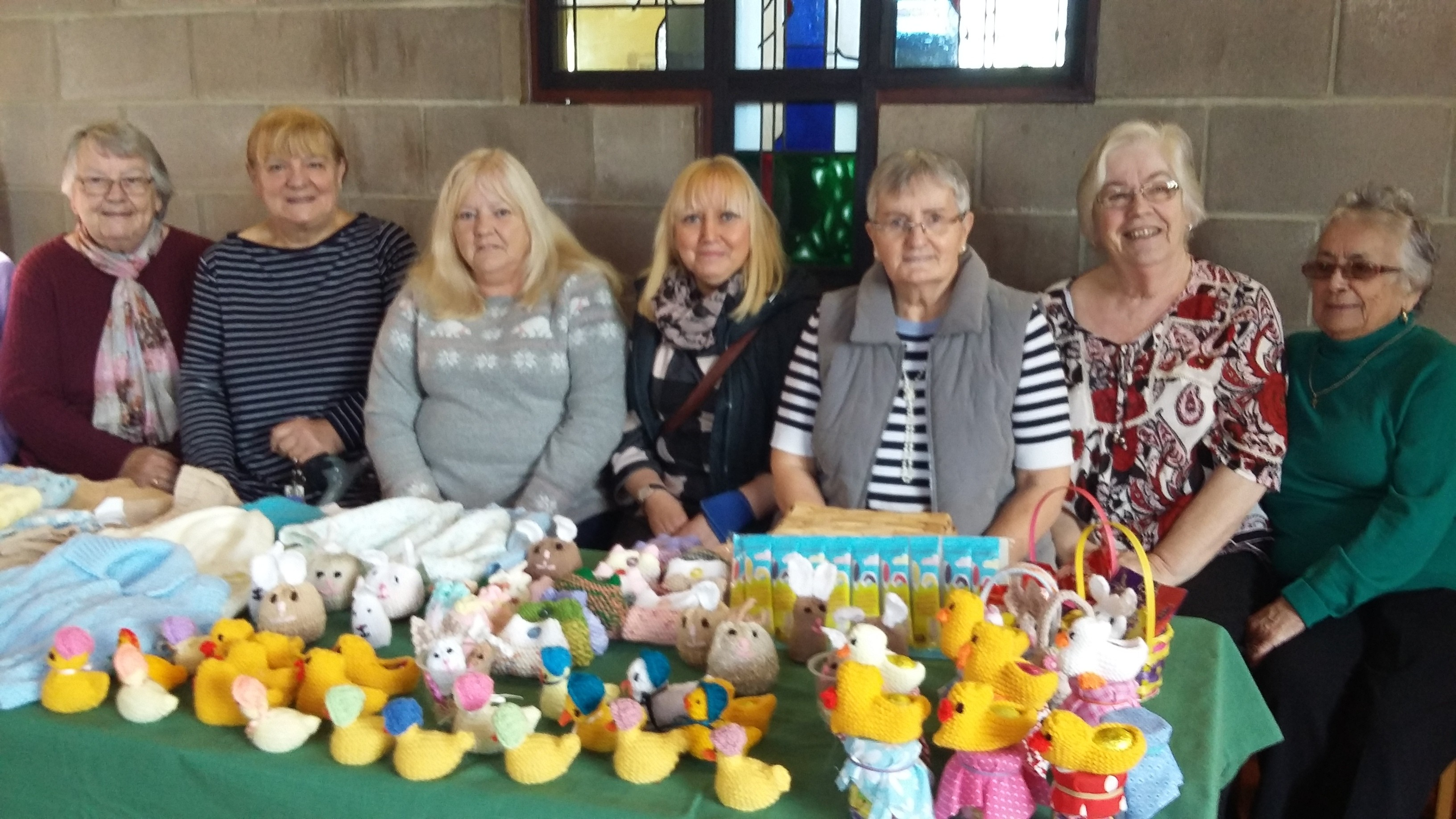 Children's Blessing Benefit from Knit & Natter Donation