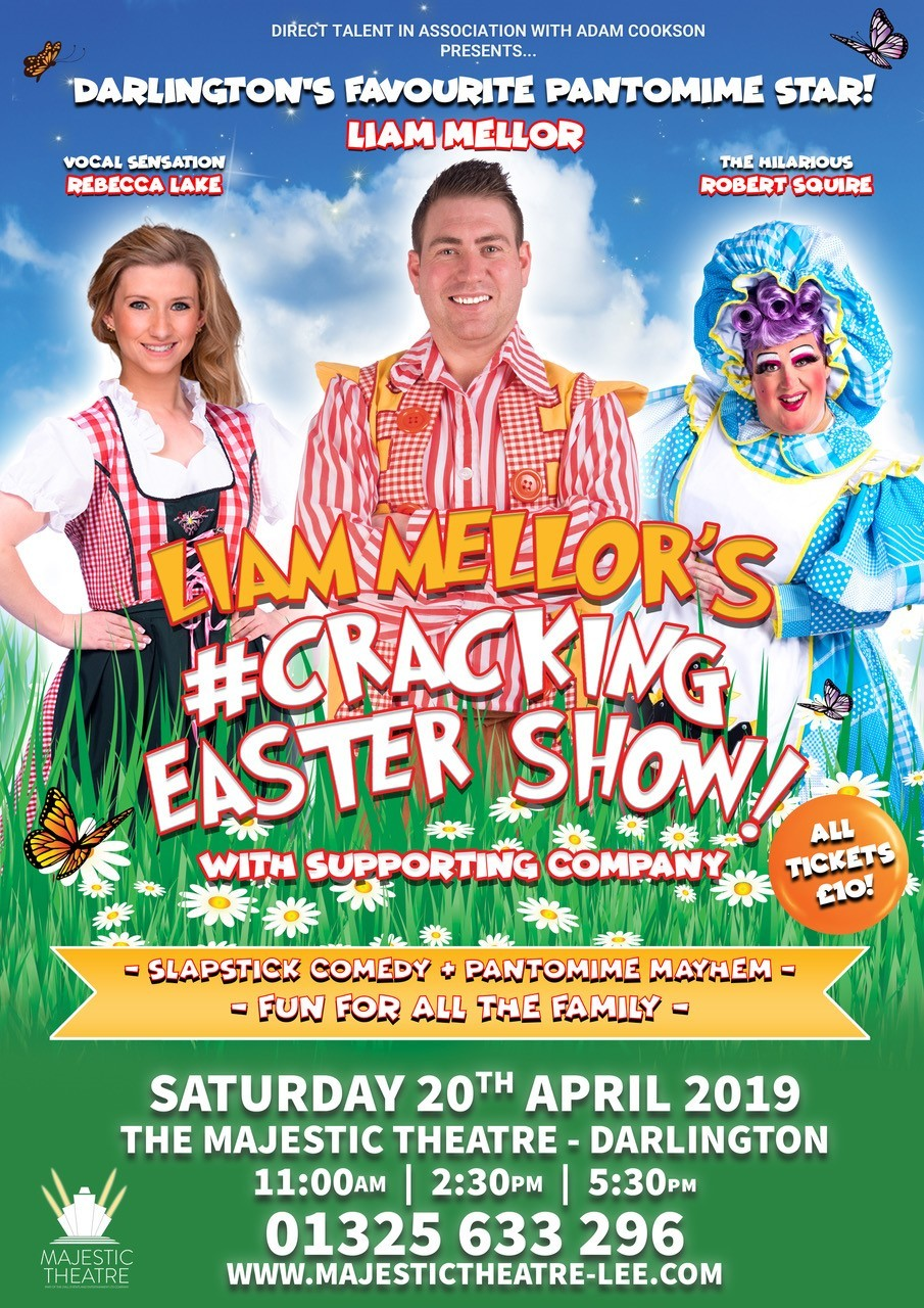 Liam Mellor Returns for Easter Panto