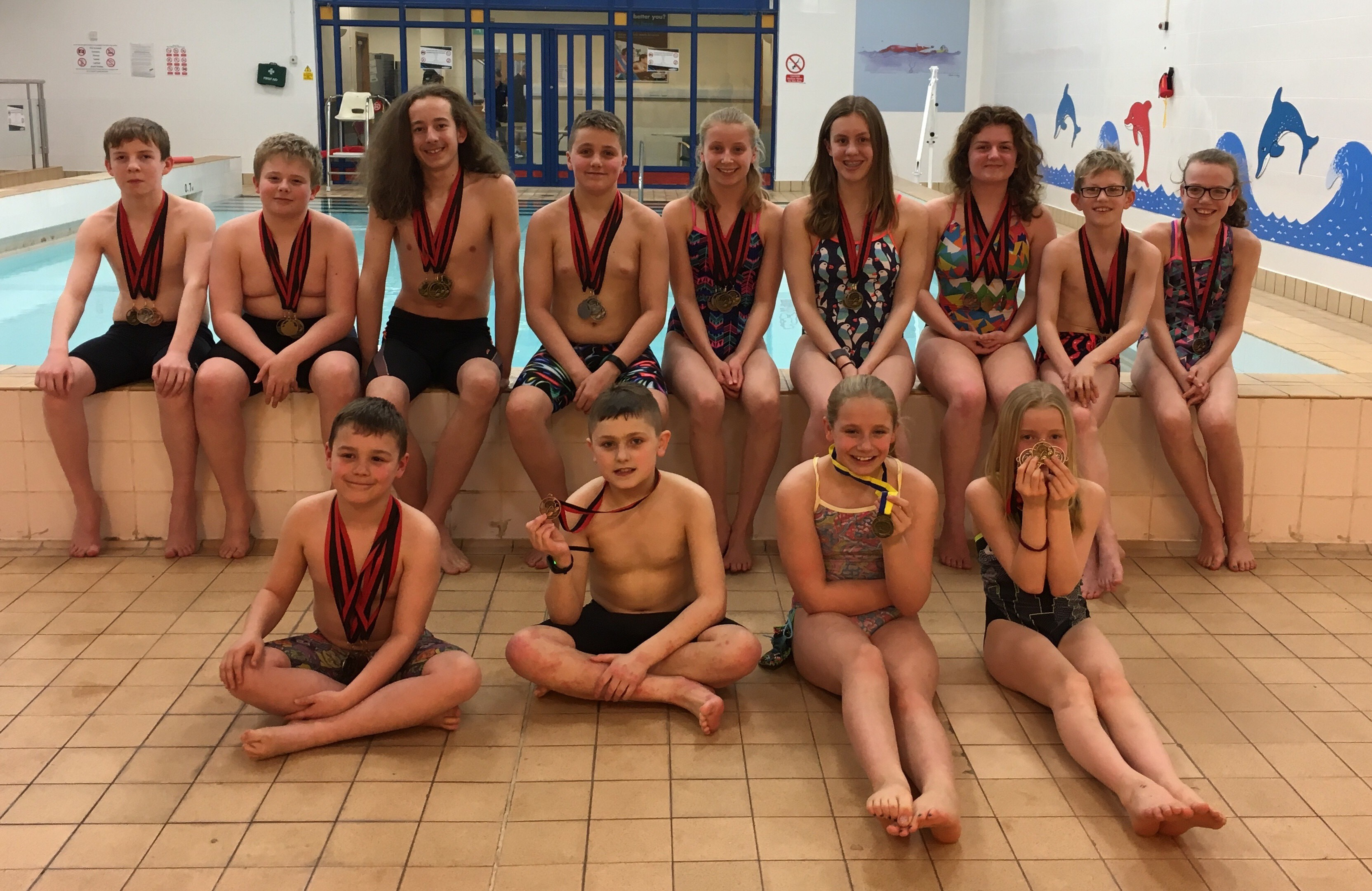 Sedgefield 75 Swimmers Weekend Winners