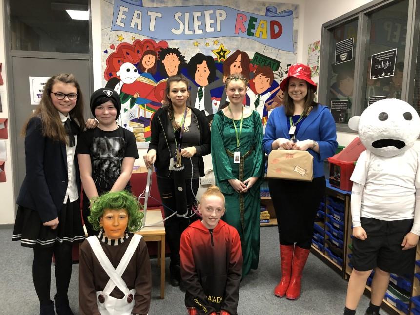 Woodham Academy Celebrates World Book Day