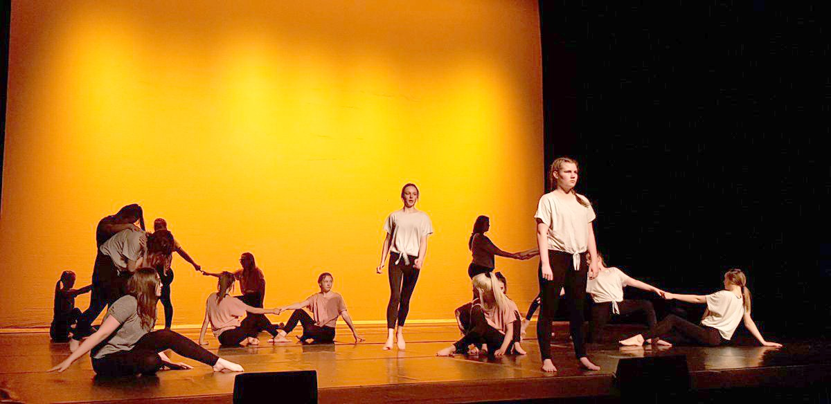 Greenfield Students Put 'Feetfirst' at Gala Theatre