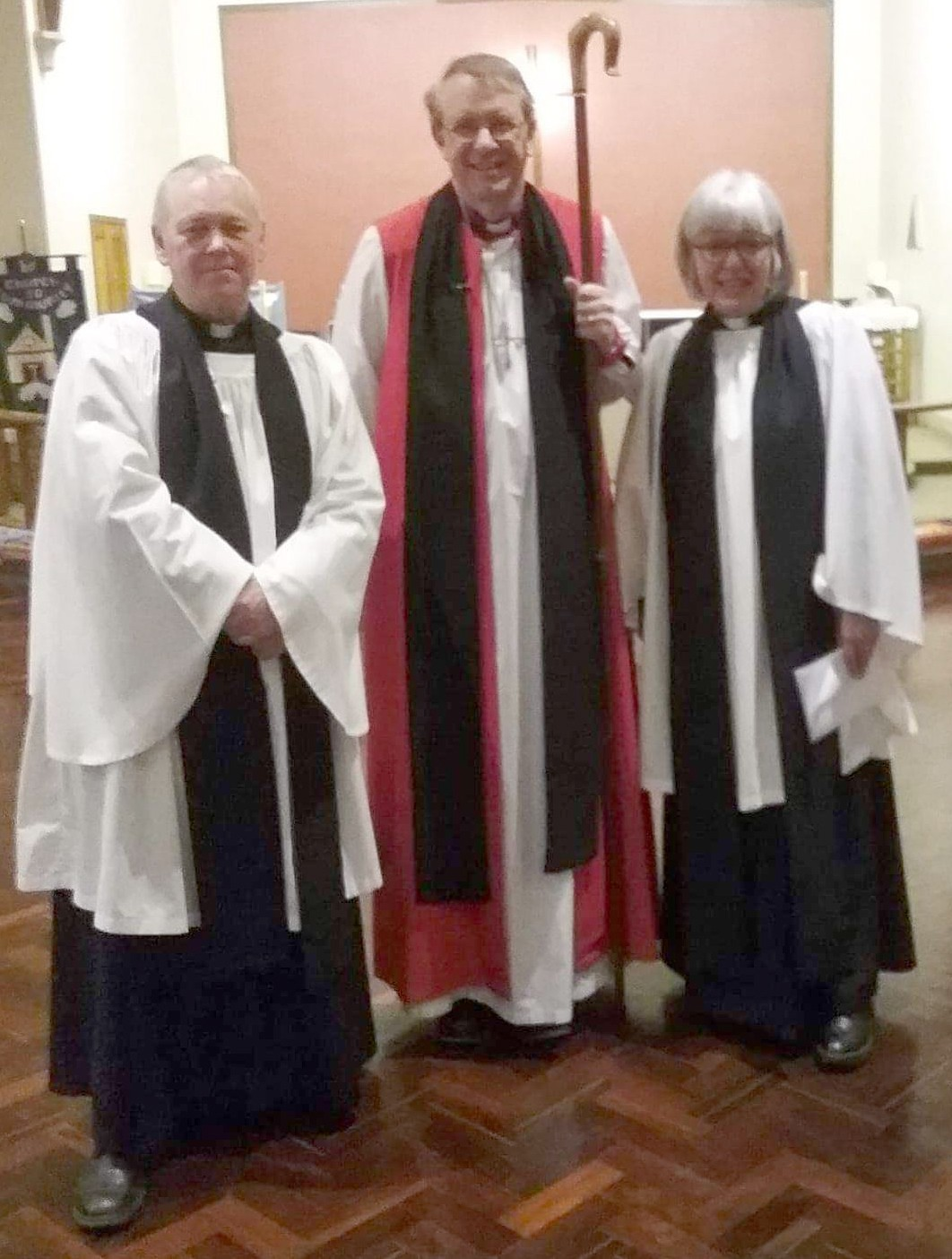 Revd. Jeff Joins Parish Team