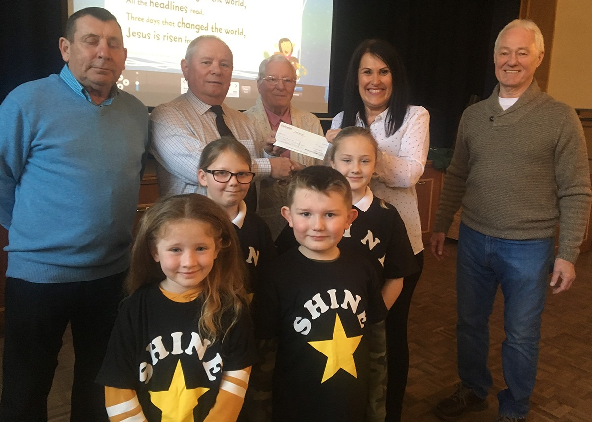 Shine Receive £450 in Donations