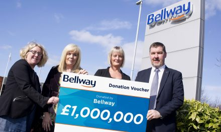 Bellway Celebrates £1 Million Cancer Research Charity Milestone