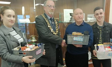 Youth Council Raffle Raise £138