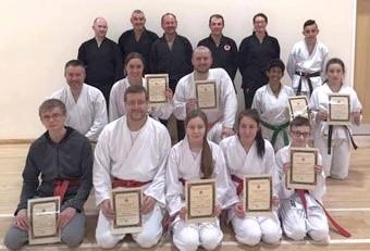 Zanshin Kai Karate Latest Gradings