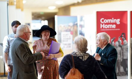 Exhibition Explores Soldiers' Experiences of Returning Home