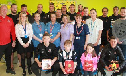 Darlington F.C. Selects NHS Charity
