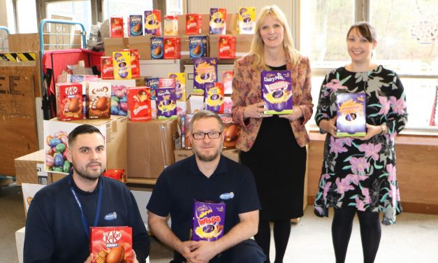 Eggs-ceptional Number of Easter Treats Collected for Families