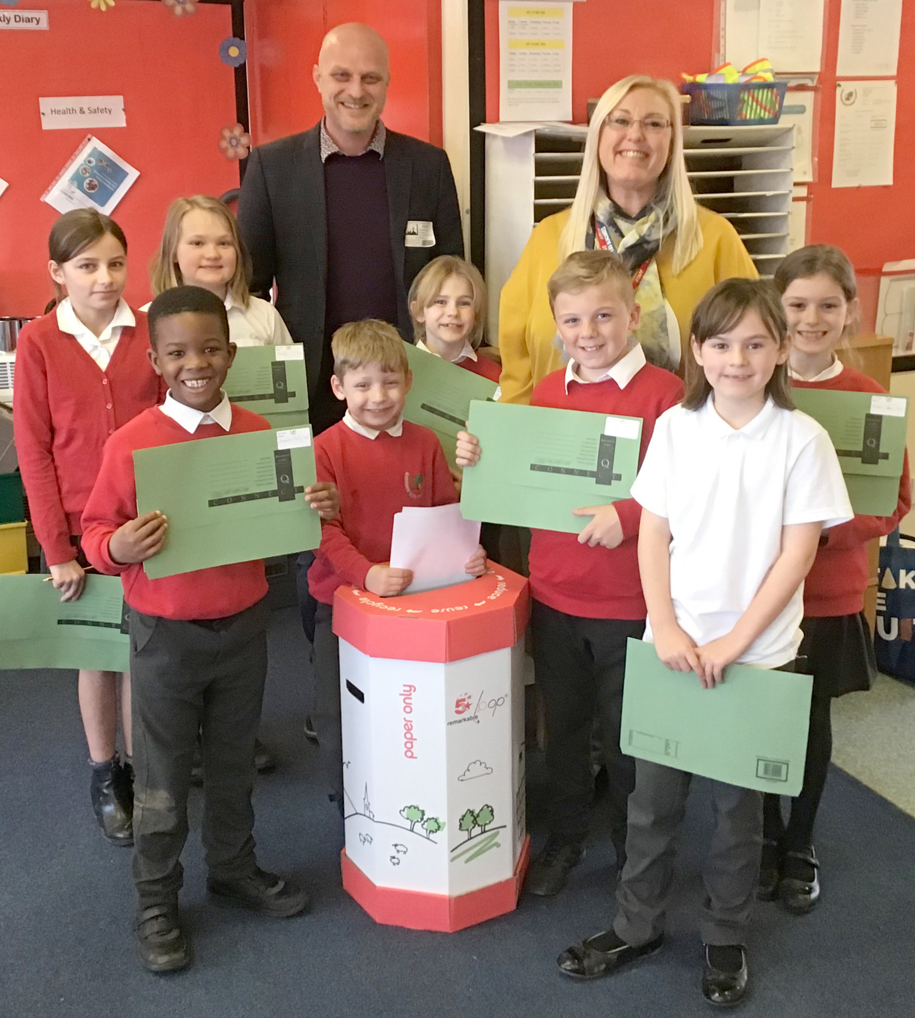 Woodham Burn Primary Aiming for School Eco-Schools Award
