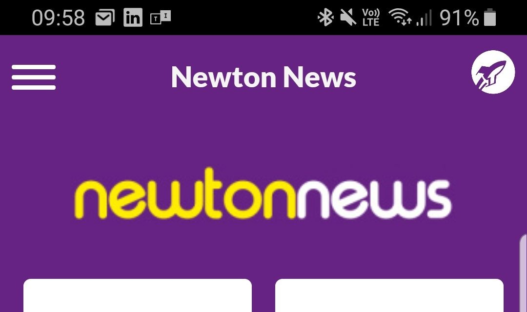 Newton News New Look Website