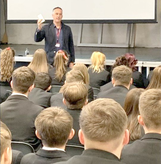 Inspirational Speaker Visits Greenfield
