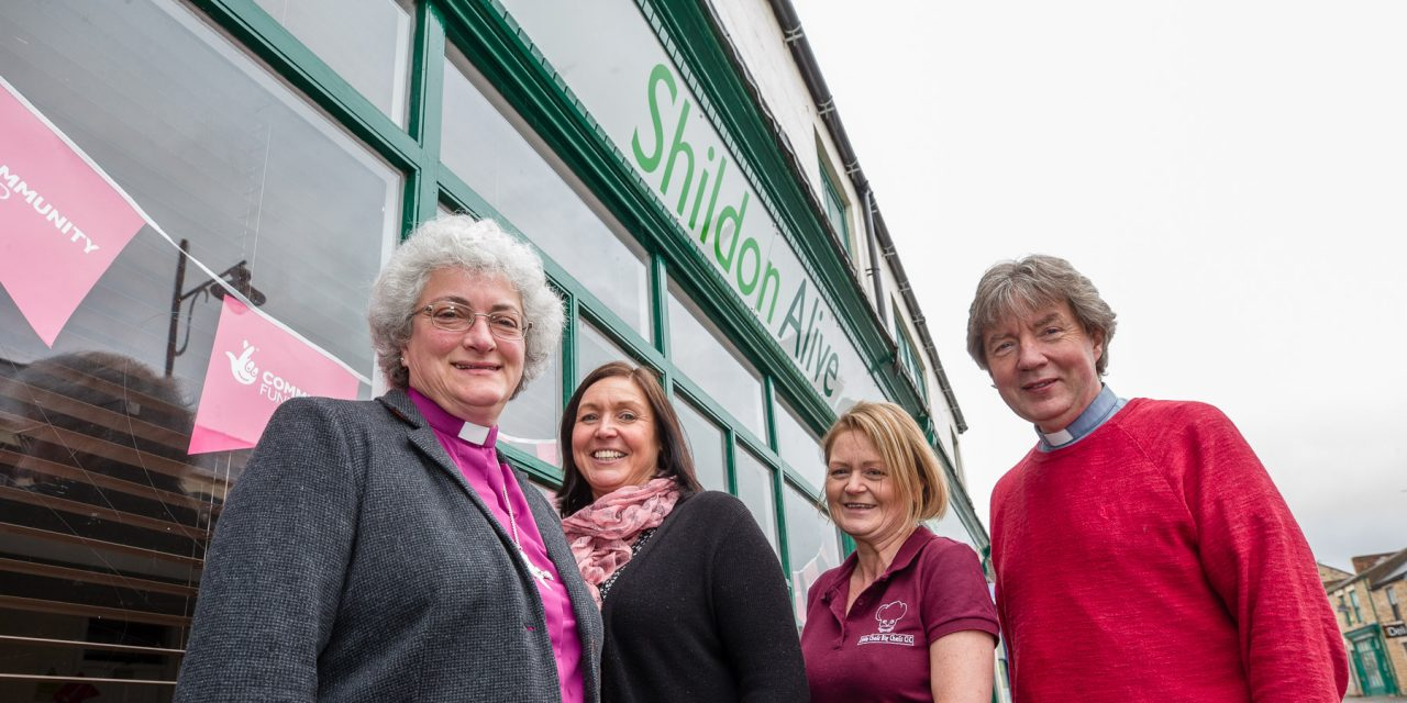Bishop Sarah Opens Next Chapter in Shildon Success Story