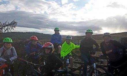 Mountain Biking at Woodham on the Up